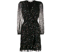 'Lilian' Kleid im Metallic-Look