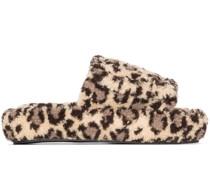 leopard print slippers