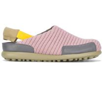 Sneakers mit gerippten Details - women