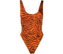 Badeanzug mit Tiger-Print