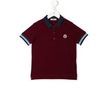 Poloshirt mit Kontrastkragen - kids - Baumwolle