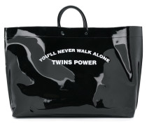 You'll Never Walk Alone Twins Power tote