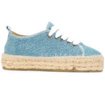 'Hamptons' Metallic-Espadrille-Sneakers