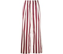 Weite Hose mit Streifen