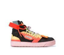 'Security Tag' High-Top-Sneakers