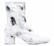 Tabi Stiefel mit Kroko-Optik