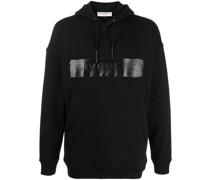 logo-band cotton hoodie