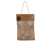 Handtasche mit Netzeinsatz