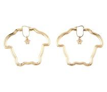 Medusa Curve hoop earrings