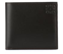 embossed logo billfold wallet