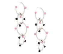 large chain pendant earrings