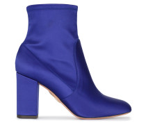 Blue Satin so me 85 ankle boots