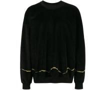 'Clerck' Pullover mit Stickerei