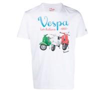 T-Shirt mit Vespa-Print