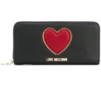 Portemonnaie mit Herzapplikation
