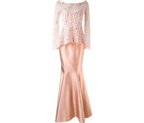 maxi dress and 'renascença' lace blouse
