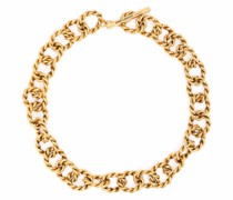 chain-link choker necklace
