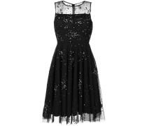 P.A.R.O.S.H. Semi-transparentes Kleid mit Pailletten