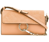 Blushy Pink Faye chain wallet bag