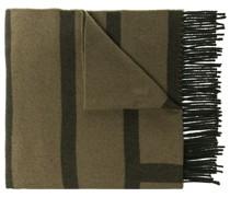 Großer Schal mit Monogramm