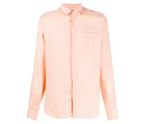 long-sleeved buttoned shirt