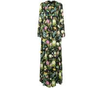 Robe mit Blumenmuster