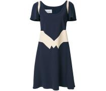 geometric panel dress