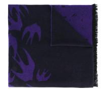 Schal mit Vogel-Prints