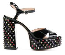 embellished Lust platform sandals