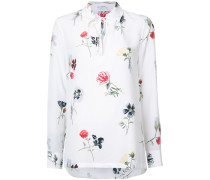 Florales Seidenhemd