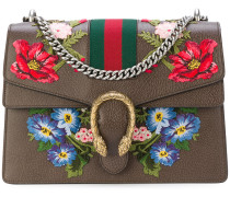 Dionysus embroidered shoulder bag