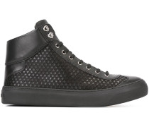 High-Top-Sneakers mit Sternenmuster