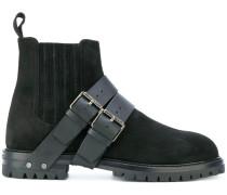 Garavani buckle strap detailed boots
