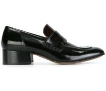Zweifarbige Penny-Loafer