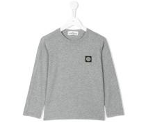 Langarmshirt mit Logo-Patch