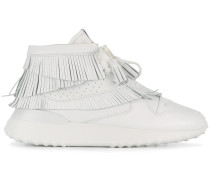 flatform hi-top sneakers