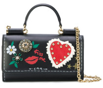 mini Von bag with painted style details