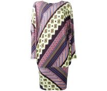 Kleid mit geometrischem Print - women