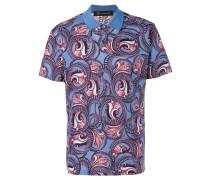 Poloshirt mit Muster - men - Baumwolle - XL