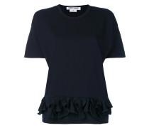- T-Shirt mit Rüschen - women - Baumwolle - XS