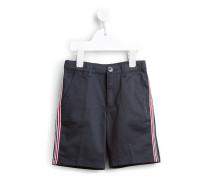 Bermuda-Shorts mit seitlichen Streifen