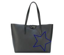 Shopper mit aufgesticktem Stern