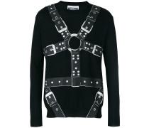 Pullover mit Harness-Print