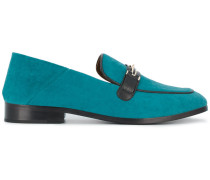 Blue Melanie Loafers
