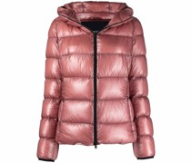 quilted padded short jacket