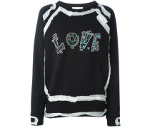 """Pullover mit """"Love""""-Schriftzug"""