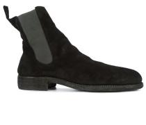 Chelsea-Boots mit niedrigem Blockabsatz