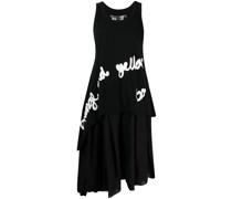 Kleid mit Slogan-Print