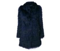 concealed fastening fur coat