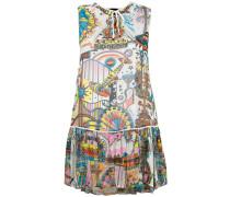 Kleid mit Print - women - Polyester/Viskose - 40